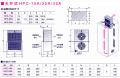 熱管熱交器HPC/HPW